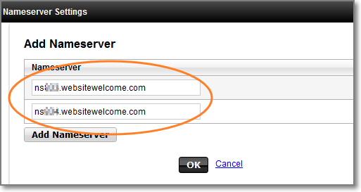 how to change nameserver wordpress