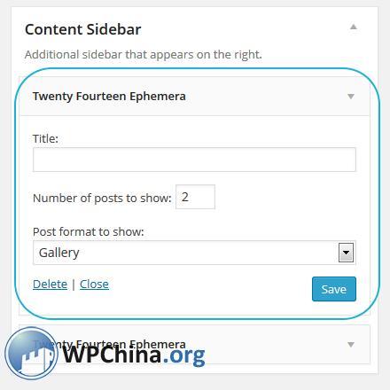 WordPress Twenty Fourteen Theme