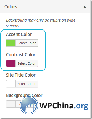 WordPress Furteen Colors插件