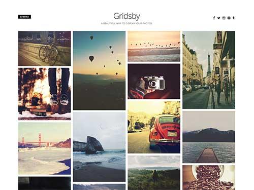 Gridsby WordPress主题截图