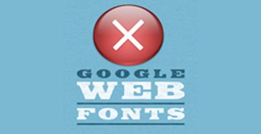no-google-fonts