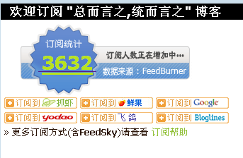 WordPress Feedburner Feed Count