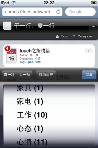 iPod Touch 插件
