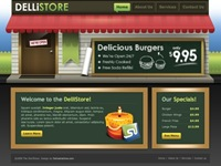 Dellistore WordPress 主题